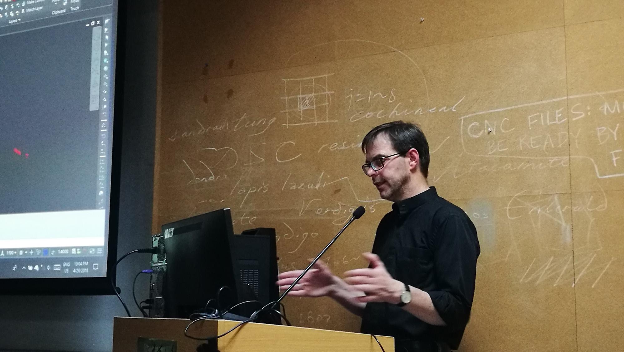 LA-FRIDAY学术小沙龙邀请Andreas Luka做报告