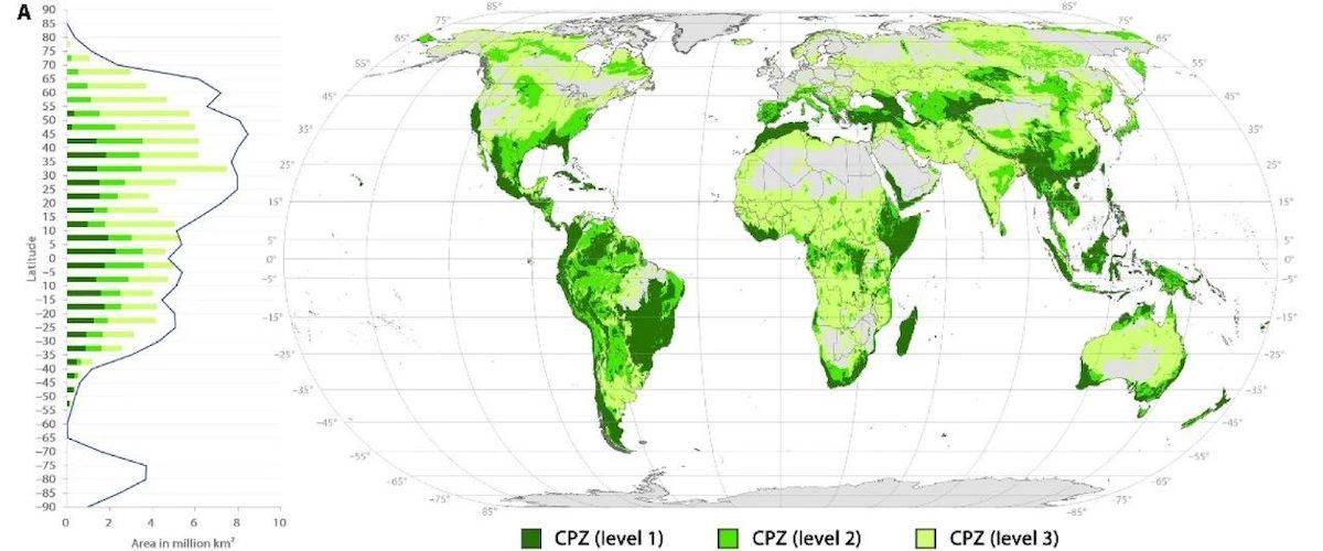 杨锐教授课题组在《科学·进展》发文识别全球自然保护地优先扩展区域