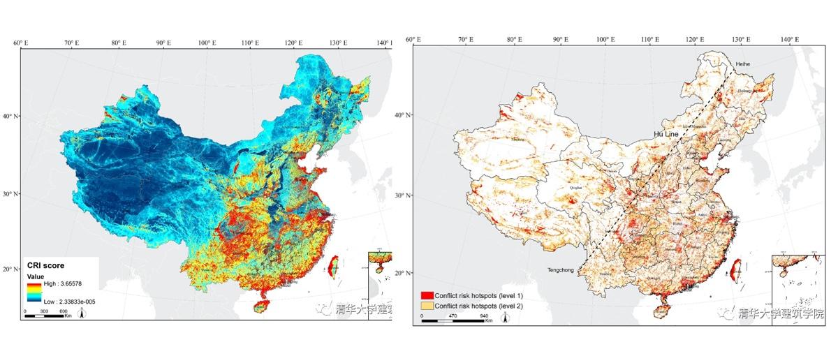 学术 | 杨锐教授团队在国土尺度保护冲突研究中取得新进展